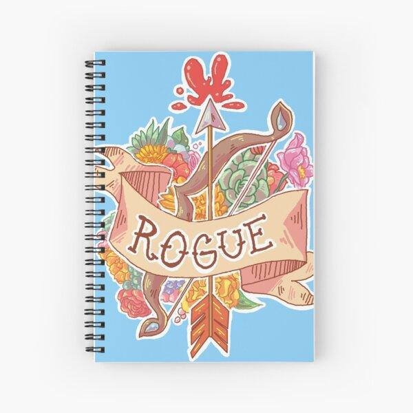 ROGUE CLASS Spiral Notebook