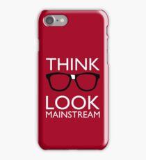 Think NERD Look MAINSTREAM iPhone Case/Skin
