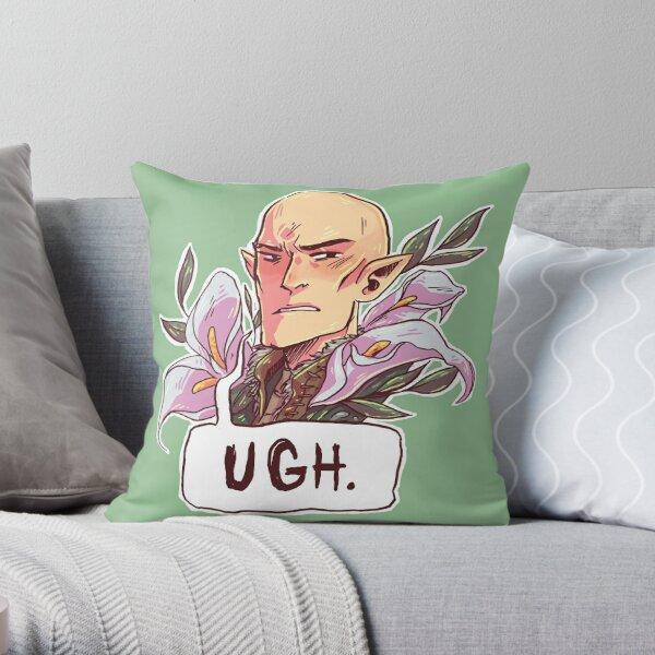 =Judgemental Sigh= Throw Pillow