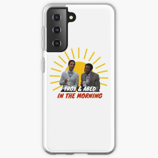 Troy and Abed in The Morning Samsung Galaxy Soft Case