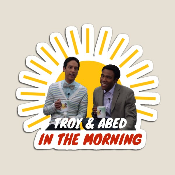 Troy and Abed in The Morning Magnet