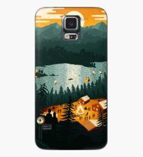 Ländliche Gegend Hülle & Klebefolie für Samsung Galaxy