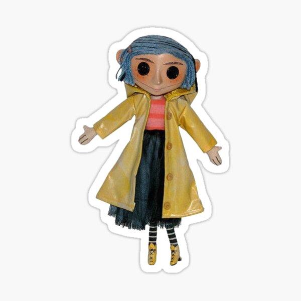Coraline Doll Sticker