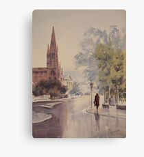 Easing Showers Canvas Print