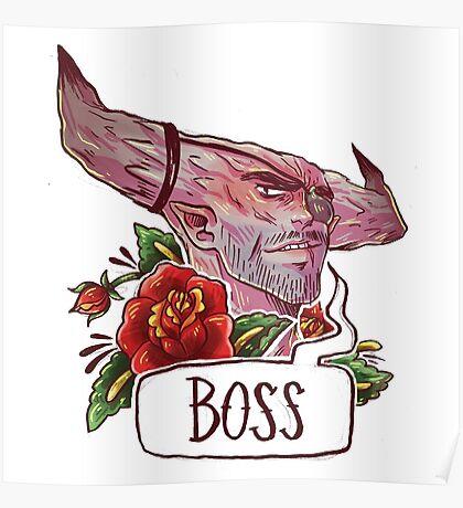 BOSS BULL Poster