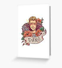 DANG Commander Greeting Card