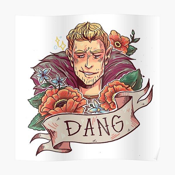 DANG Commander Poster