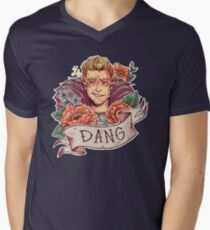 DANG Commander Men's V-Neck T-Shirt