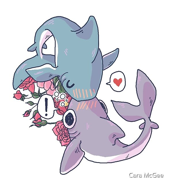 Sharky Smooches by Cara McGee