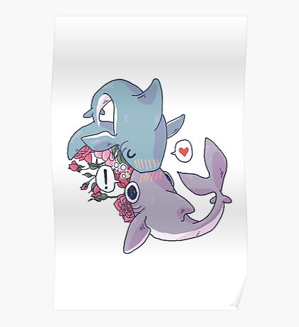 Sharky Smooches Poster