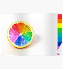 Pantone Colour Wheel Poster