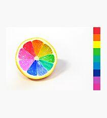 Pantone Colour Wheel Photographic Print