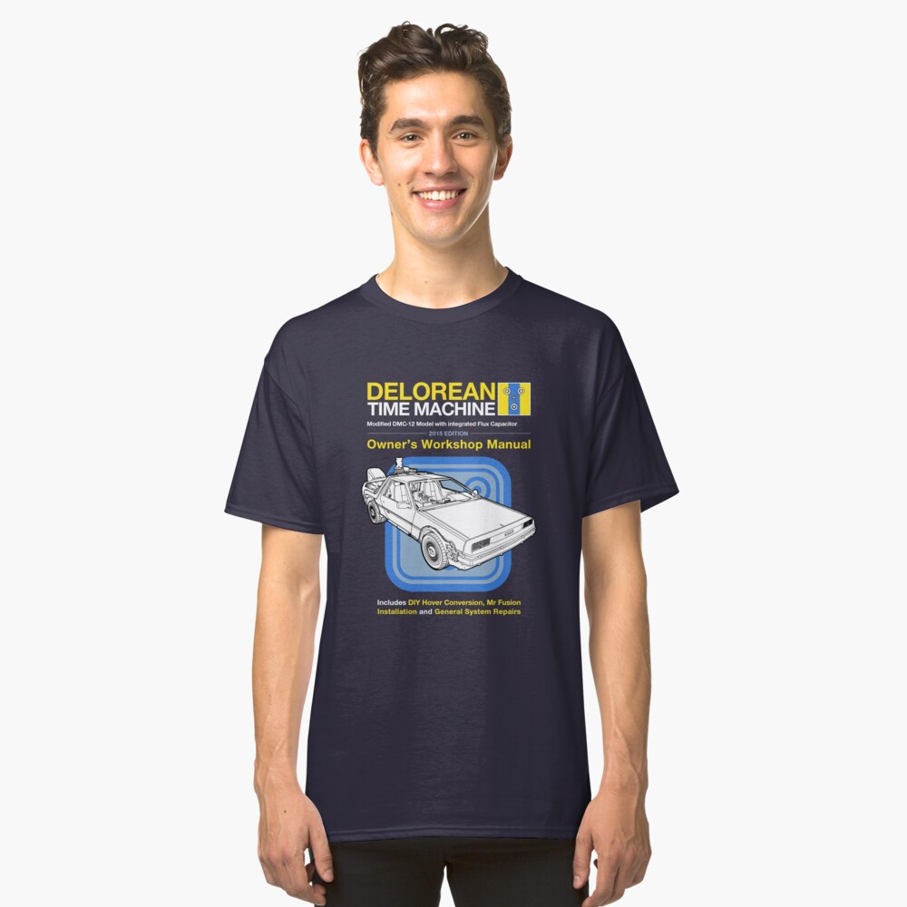 Time Machine Manual Classic T-Shirt