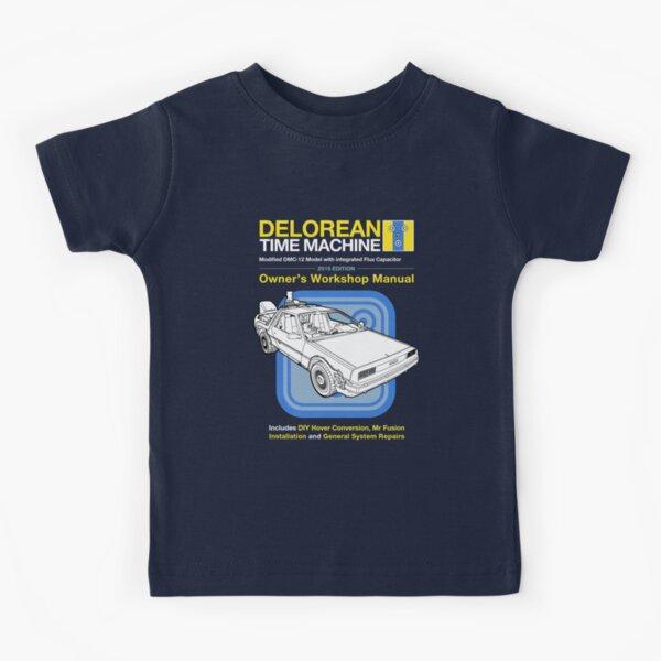 Time Machine Manual Kids T-Shirt