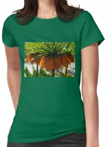 Crown Imperial Flowers Womens Fitted T-Shirt