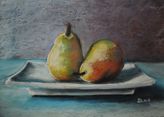A Pair of Pears by Dianne  Ilka