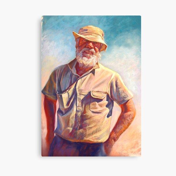'Hot Day at Tarcombe'  Canvas Print