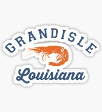 Grande Isle - Louisiana. Sticker