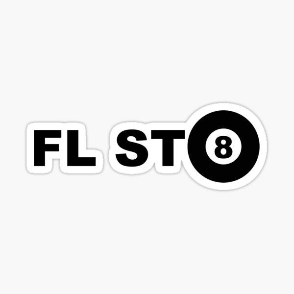 FL ST8BALL  Sticker