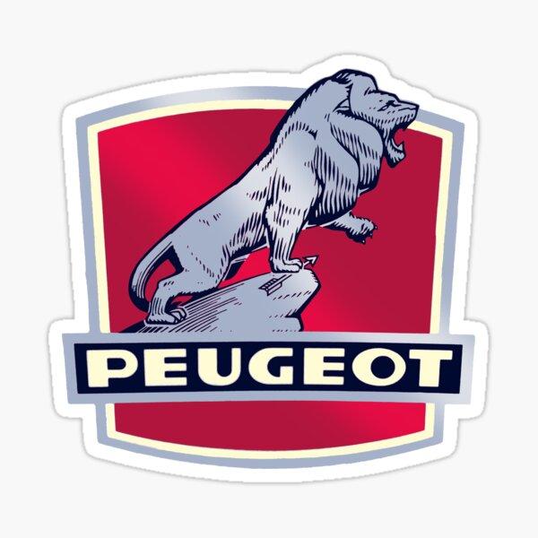Bicicletas Peugeot Vintage Pegatina