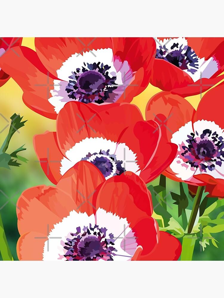 Red poppies by Elviranl