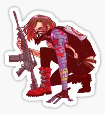 Punk!Winter Soldier Sticker