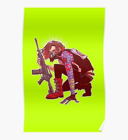 Punk!Winter Soldier Poster