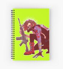Punk!Winter Soldier Spiral Notebook