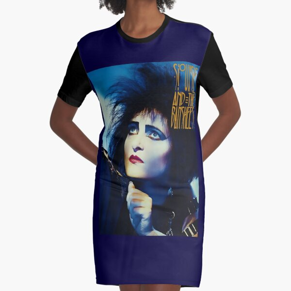 Siouxsie And The Banshees Illustration Graphic T-Shirt Dress