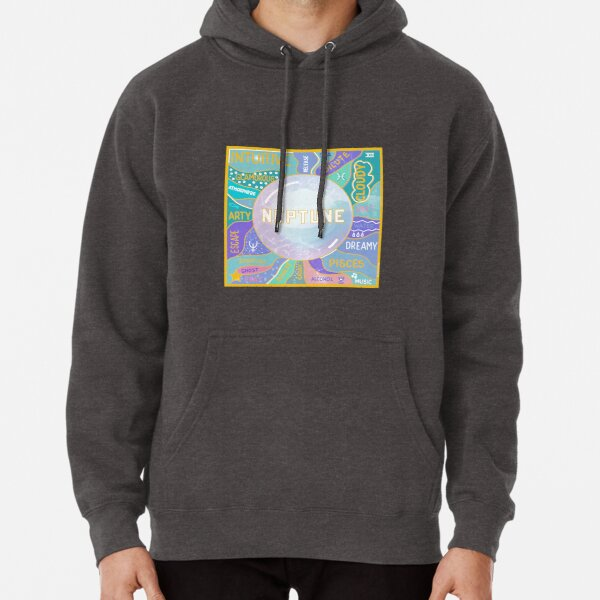 Neptune Planetary Ruler of Pisces Pullover Hoodie
