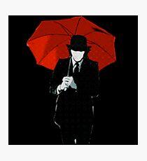 Mayday Parade Red Umbrella Photographic Print