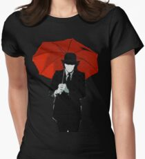 Mayday Parade Red Umbrella Womens Fitted T-Shirt