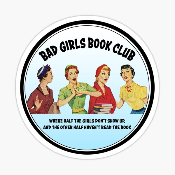 Bad Girls Book Club Sticker