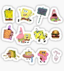 SpongeBob SquarePants sticker pack  Sticker