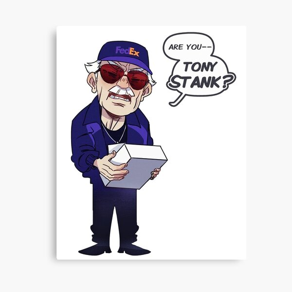 Are You Tony Stank? Canvas Print