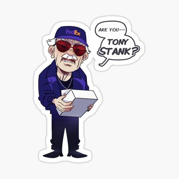 Are You Tony Stank? Sticker