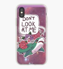 Don't Look at Me iPhone Case
