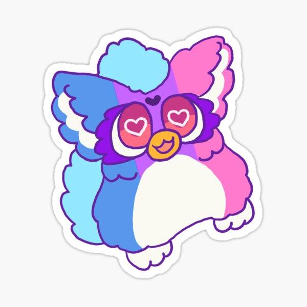 Bisexual Pride Furby Sticker