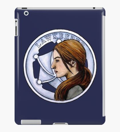 The New Lawkeeper  iPad Case/Skin