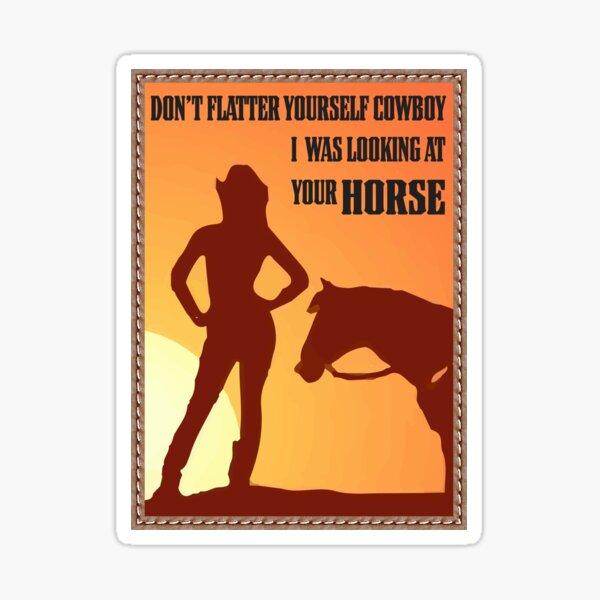 soft cowboy Sticker