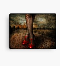 The Witch is Dead! Canvas Print