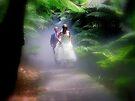 Bride in the mist by Rinaldo Di Battista