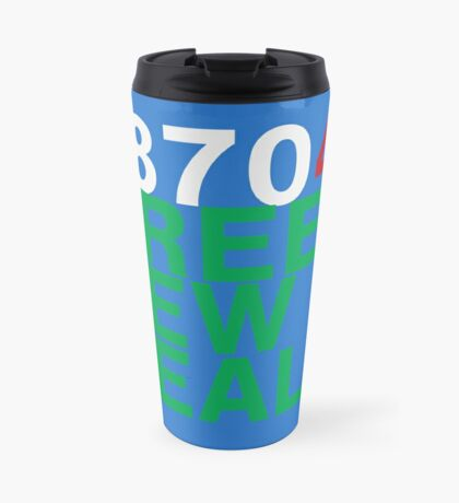 Austin 78704 for a Green New Deal Travel Mug