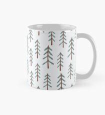 Fir tree doodle wood  Classic Mug