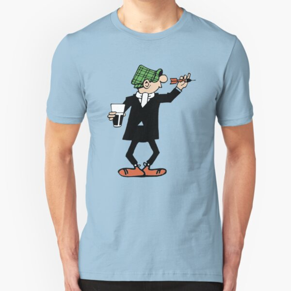 ANDY CAPP DARTS Slim Fit T-Shirt