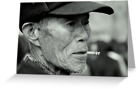 Beijing - Mister Li. by Jean-Luc Rollier