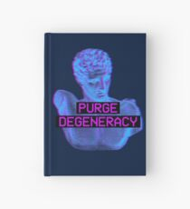 Purge Degeneracy Hardcover Journal