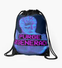Purge Degeneracy Drawstring Bag