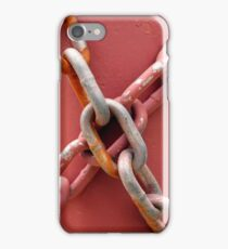 Linked in Pink iPhone Case/Skin