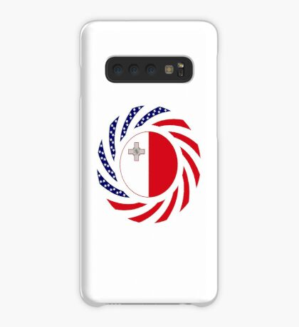 Maltese American Multinational Patriot Flag Series Case/Skin for Samsung Galaxy